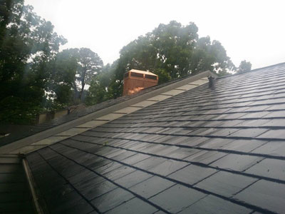 GAF TruSlate Black Onyx Shingle
